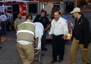 14 de agosto | Ilesos. El gobernador de Chihuahua César Duarte, su esposa, la periodista Lolita Ayala y otros tripulantes resultan ilesos al desplomarse el helicóptero en que viajaban.