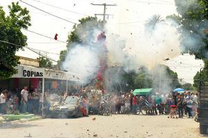 No se reportaron incidentes durante la celebración en Trincheras.