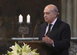 Autoridades como el ministro del Interior español, Jorge Fernandez Díaz, también tuvieron intervenciones durante la ceremonia.