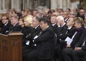 Autoridades de cada uno de los países de origen de las víctimas asistieron al acto.