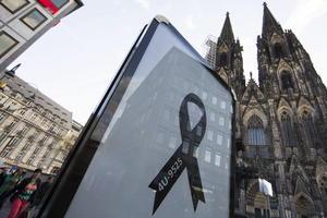Alemania recordó con solemnidad y emoción a las víctimas del avión de Germanwings en un funeral de Estado.