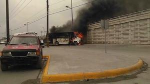 """Derivado del operativo en el que se detuvo al líder del Cártel del Golfo, José Hugo Rodríguez Sánchez, """"El Gafe"""", integrantes del mismo grupo delictivo reaccionaron atacando a elementos de las fuerzas federales y de Fuerza Tamaulipas, realizando algunos bloqueos en la ciudad."""