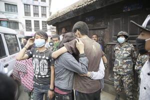 La tristeza y el terror predomina en Nepal.