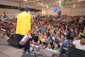"""El """"Día del peque"""" se celebró con gran éxito y sobre todo, con una satisfacción para los más chicos del hogar."""