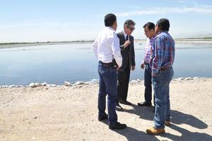La recuperación de la Planta Tratadora de Aguas Residuales de parte de Simas duró 8 horas.