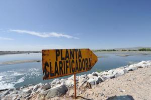 Las 170 hectáreas de terreno de la PTAR quedaron bajo resguardo policiaco.