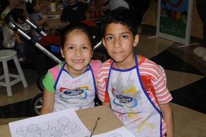 Carlos Rodriguez  En cuatro caminos Taller de huevos de pascua Jaime Sebastian y Claudia Sofia