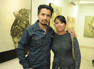 Erick Sotomayor Ruiz  INAUGURACON EXPOSICION RAMON EGUIA. Miguel y Cynthia.
