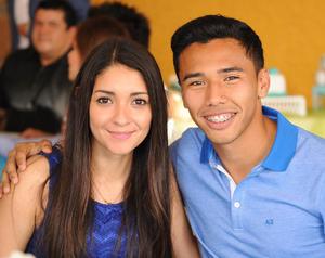 Carolina y Sergio.