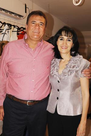 Carlos y Bedia.