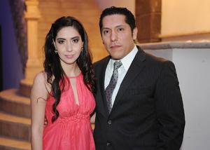 Nancy y Alejandro.