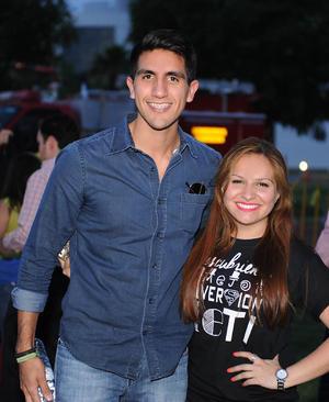 Josué y Marcela.