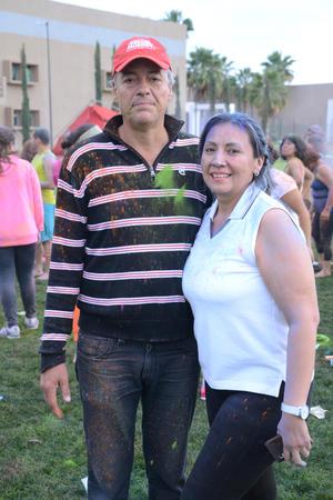 Roberto y Yadira.