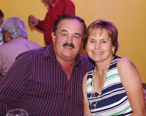 José Luis y Olga.