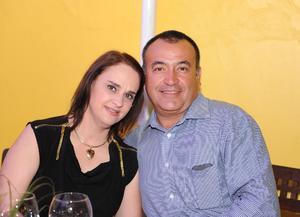 Maribel y Felipe.