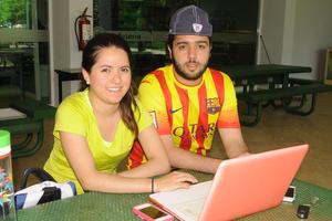 Laura y Andrés.