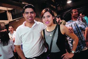 Juancho y Marifer.