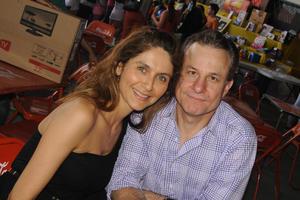 Verónica y Javier.