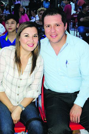 Mónica Galván y Javier González.
