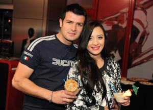 Gerardo y Alma.