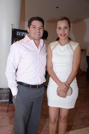 Luis y Cecilia.