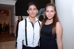 Pedro y Vanessa.