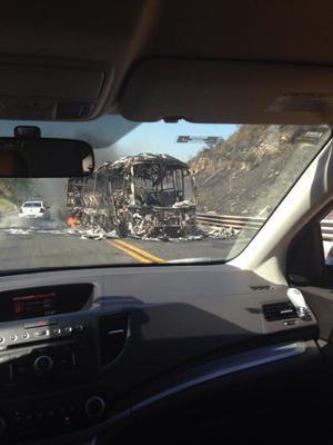 En Colima y algunas carreteras de Guanajuato, también se reportaron algunos bloqueos y quema de vehículos.