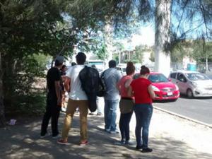 No obstante, los ciudadanos mostraron su opinión en redes sociales, reportando incluso la suspensión de rutas del transporte público.