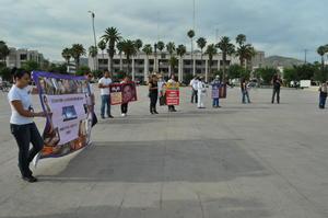 Esta manifestación en La Laguna formó parte de la Cuarta Marcha de la Dignidad Nacional: Madres buscando a sus hijos, buscando la justicia y la verdad.