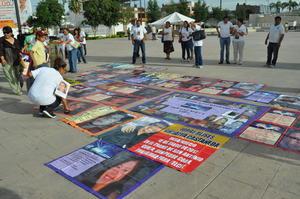 Las madres de personas desaparecidas conmemoraron el 10 de mayo.