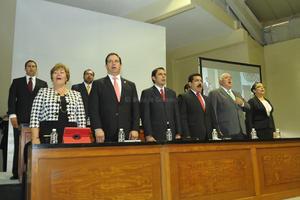 Esta fue la primera vez que la sexagésima Legislatura realiza una sesión fuera de la ciudad de Saltillo.