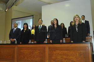 Legisladores locales estuvieron presentes.