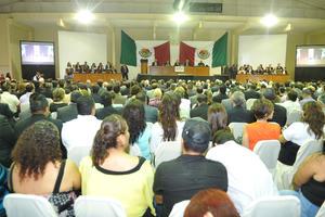 Se realizó la sesión solemne de la LX Legislatura Estatal en las instalaciones del Instituto Tecnológico de la Laguna (ITL) por su 50 aniversario.
