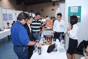 La exposición se hizo gracias a los apoyos de empresas como Peñoles, la organización independiente Milset, Canieti y el Tec de La Laguna, pero no del gobierno.