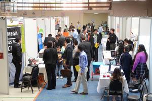Cientos de personas acudieron a la Expo Ciencias.