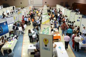 Con gran entusiasmo arrancó el primer día de actividades de Expo Ciencias en la ciudad.