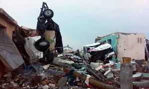Suman 750 viviendas dañadas, de las cuales 80 registran derrumbe total.