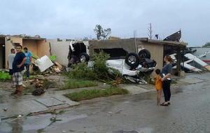 El tornado tuvo una duración de 6 segundos, sin embargo, fue suficiente para dejar grandes destrozos.