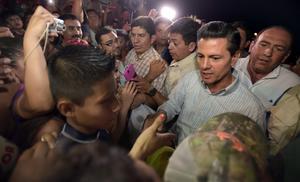 El mandatario expresó su solidaridad a los ciudadanos.