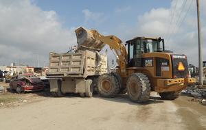 El presidente Peña Nieto se comprometió a reconstruir las viviendas dañadas.