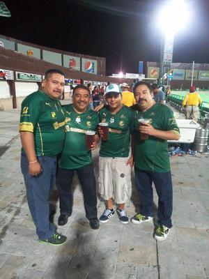 José, Samuel, Gerardo Bonilla y Daniel Rivas.