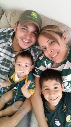 Jesús, Silvia, Álvaro y Roberto.