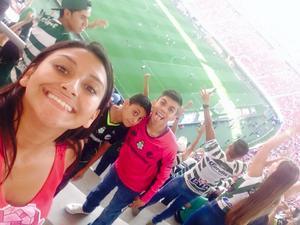 Diana, Alberto y Jesús en Guadalajara.