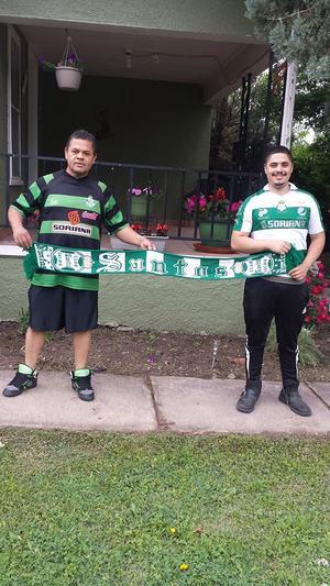 César Andrade y César Andrade jr, desde Dodge City Kansas.