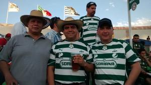 Alejandro Espinoza, Héctor Solis y Manuel de  la Torre.