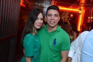 Andrea y Carlos.