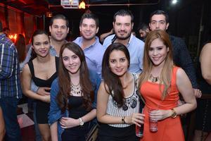 Diana, Marco, Mizar, Rafa, Cynthia, Kike, Silvia y Gerardo.