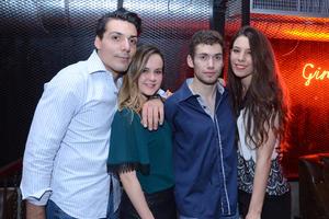 Oswaldo, Yamile, Bryan y Sophia.