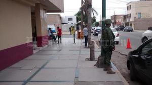 En Gómez Palacio se implementó un grupo especial de la Policía Federal y de la República coordinados en diversos puntos de la ciudad.