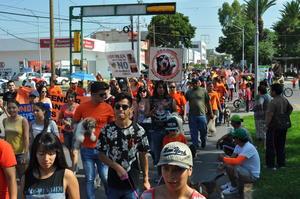 Al finalizar, anunciaron una nueva manifestación en la presidencia municipal, a fin de exigir al alcalde Miguel Riquelme la aplicación de la Ley de Protección y Trato Digno.